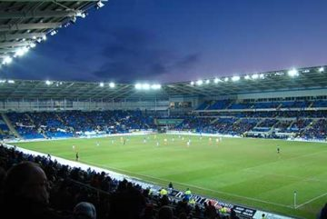 Cardiff City stadium set to host the Gunners