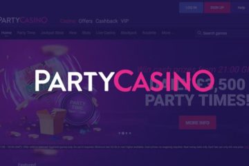 Party Casino: 50 free spins sign up offer