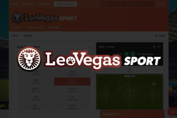 Leo Vegas Sport sign up offer: Double your first bet winnings