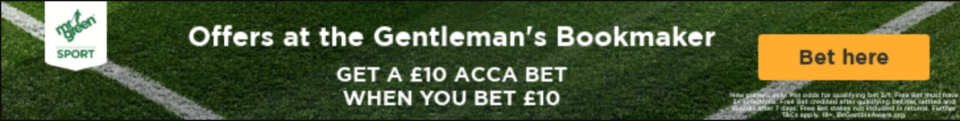 Mr Green free bet: Bet £10 get £10 accumulator bet