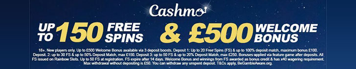 Cashmo Free Spins No Deposit Bonus New Casino Best Free Bet Scout