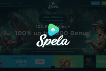 Spela Casino sign up offer: 100 free spins on Starburst