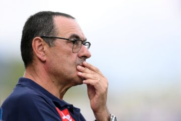 Maurizio Sarri's Chelsea face Man City in the FA Community Shield on Sunday