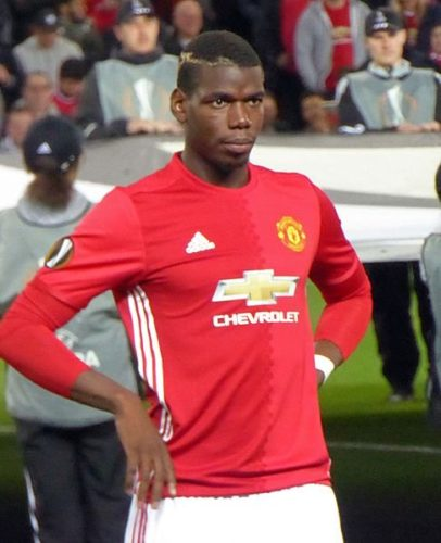 Paul Pogba was the shining star in United's last win