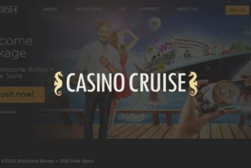 Casino Cruise: £1000 Welcome Bonus + 200 Free Spins