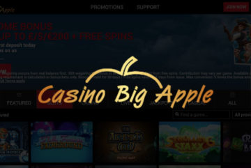 Casino Big Apple: 100 free spins incl. 10 free spins no deposit