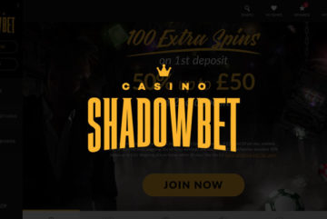Shadowbet Casino sign up offer: 20 free spins no deposit bonus
