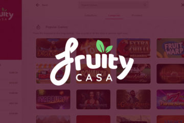 Fruity Casa Casino sign up offer: 20 bonus spins + £100 bonus